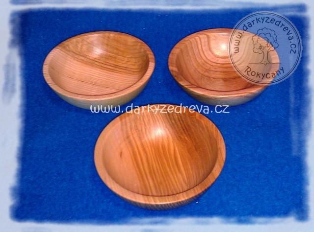 Dřevěná miska soustružená 13