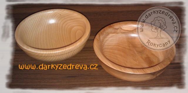 Dřevěná miska soustružená 15